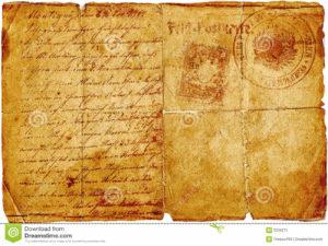 Old Tattered Letter